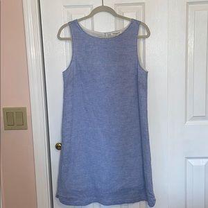 *NEVER BEEN WORN* Summer Linen Striped Shift Dress